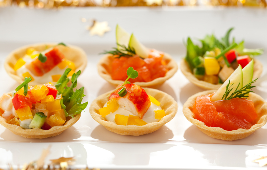 Holiday appetizers supershuttle blog for Canapes para o natal